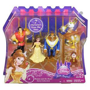 Disney Little Kingdom Story Set Beauty and the Beast Figurine Figure Set Lumiere