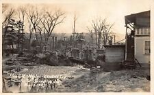 Real Photo Postcard Vermont Hydro-Electric Corp in Springfield, Vermont~109833