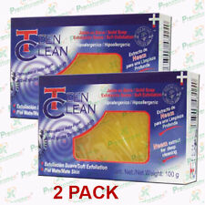 2 Jabónes Teen Clean Exfoliante con extracto de Neem 100 gr / piel matte