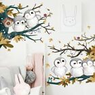 Wall Stickers Pvc Owl Family Art Diy Murals Removable Decals Children Home Decor