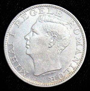 Romania: 1944 Silver 500 Lei. Unc