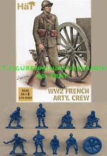 1:72 FIGUREN 8162 WWII FRENCH ARTILLERY CREW - HÄT