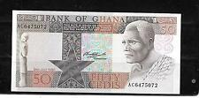 GHANA #22b 1980 UNC OLD 50 CEDIS BANKNOTE PAPER MONEY CURRENCY BILL NOTE