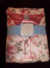 ADONNA Pink Roses PAJAMAS PJ'S Women's Size XXL MSRP $50 NEW