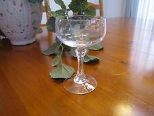 Princess House Heritage Bordeaux Champagne Sherbet Dessert Stemmed Glass Vntg