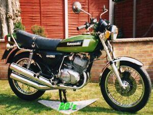 Kawasaki KH250 B4 Triple Decal Set - Green Bike  - THE BEST