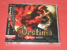 2018 Nozomu Wakai's Destinia Metal Souls JAPAN CD + DVD EDITION