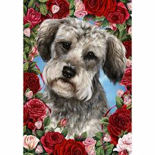 Schnoodle Valentine Roses Flag