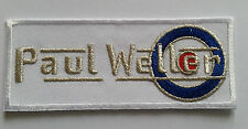 PUNK ROCK HEAVY METAL MODS MUSIC SEW ON / IRON ON PATCH:- PAUL WELLER MODFATHER
