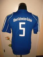 vintage Adidas trikot shirt t-shirt sport albert-schweizer-schule Gr.S