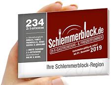 Schlemmerblock 2019 *Freie Auswahl* gültig ab sofort bis 01.12.2019
