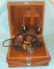 Vintage Made In Crawley By P & B Engineering Electric Stethoscope.