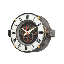 Chicago Factory Wall Clock - Vintage Industrial - Steampunk