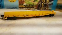 Athearn HO 50' Union Pacific flat car RTR metal wheels