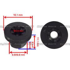 25pcs Exterior Plastic Body Nut Flange Clip 16131176747 For Benz For BMW E30 E32