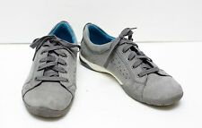 Clarks Collection Gray Lace-up Sneakers Shoes Gym Athletic Comfortable Size 7.5