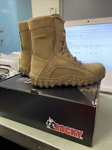Rocky Men's RKC050 S2V Tactical Military Boot Coyote Brown Leather/Synthetic 10M