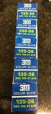 5x 3M ColorPrint 135mm slide expired Lomo Kodak fuji Perutz scotch agfa ilford