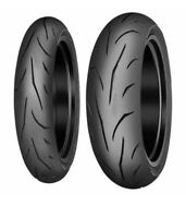 Coppia gomme moto 120/70/ZR17 + 180/55/ZR17 Mitas Sport Force Plus