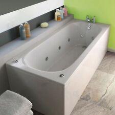 Trojan Cascade 11 Jet Whirlpool Bath | White Acrylic | 1700 x 700 mm Jacuzzi Spa