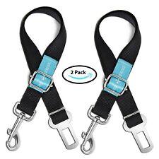 Dog Seat Belt Leash Pet Seatbelt Car Suv Safety Adjustable Harness Tether 2Pack