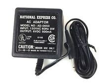 National Express AC Adapter  Model AD-0650