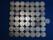 Lot of 50 Coins 1878-1904 Morgan Silver Dollars F-VF Mix Dates