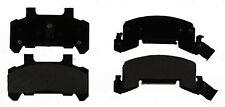 Disc Brake Pad Set-Semi Metallic Disc Brake Pad Front ACDelco Pro Brakes 17D289M