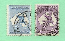 Australia - SG# 9 & 10 Used / wmk W2    -     Lot 0520254