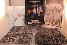 NoS Warhammer 40K Dark Imperium Space Marines Army models Primaris Space Marines