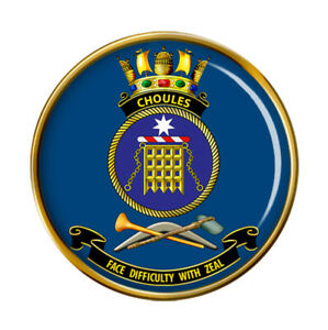 HMAS Choules Royal Australian Navy Pin Badge