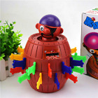 Kids Funny Gadget Pirate Barrel Game Toys Children Lucky Stab Pop Up Gift 2021