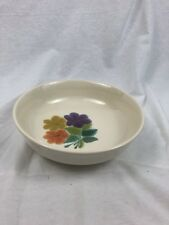 "Vintage Franciscan Earthenware ""Floral"" Round Vegetable Serving Bowl"