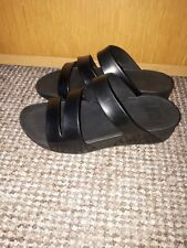 Fitflop Women's Spuerljelly Twist Sandals Black Size 6 , In Bueatful Conditions