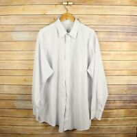 BROOKS BROTHERS Men's Traditional Fit Non Iron Button Front Shirt 17 1/2 - 35