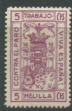 Mint Hinged Single Spanish Civil War European Stamps