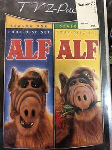 ALF TV Series DVD Collection Seasons 1 & 2  BRAND NEW SEALED