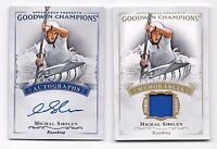 2016  Goodwin Champions Relic Card and Autograph Michal Smolen Kayaking