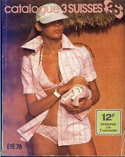 CATALOGUE 3 SUISSES ETE 1978 - Numérisé HD