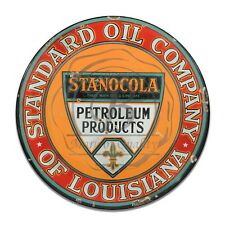 Vintage Design Sign Metal Decor Gas and Oil Sign - Louisiana Standard Oil