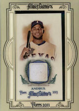 2013 Topps Allen and Ginter Mini Relics Game Jersey #EA Elvis Andrus BX 4