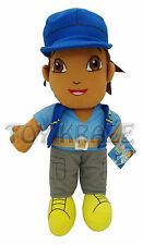 "GO DIEGO GO SAFARI RESCUE PLUSH DOLL! BLUE SOFT BOYS DORA THE EXPLORER 12"" NWT"