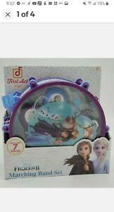 Disney Junior Frozen 2 Marching Band Drum Set 7 Piece By First Act Play  New