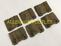 SET OF 6 NEW US Military Coyote ALICE Adapter MOLLE PALS ALICE Clip NEW
