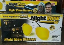 Night View NV Glasses, Virtually Indestructible. Reduce glare.