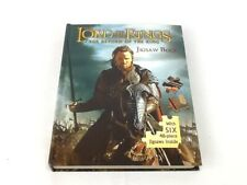 Puzzle Book, Lord of The Rings, Jig Saw Book, New 6, 48 pc Jig Saw inside.
