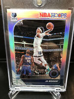 JA MORANT - 2019-20 NBA Hoops Premium Stock #259 SILVER HOLO Prizm RC SP Rookie