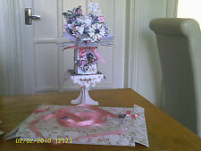 Birthday/Mothers day  pop up card with stand & box  for Family or friend