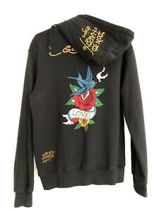 Ed Hardy Hoodie Jacket Size XL