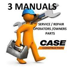 CASE 1835B Skid Steer **3 MANUALS** SERVICE REPAIR, OWNERS OPERATORS, PARTS, PDF